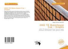 Buchcover von 2002 TD Waterhouse Cup – Singles