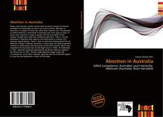 Bookcover of Abortion in Australia