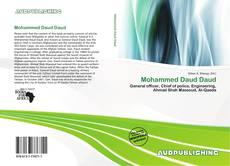 Couverture de Mohammed Daud Daud