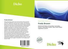 Bookcover of Freda Brown