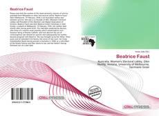 Buchcover von Beatrice Faust