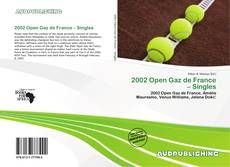 Capa do livro de 2002 Open Gaz de France – Singles