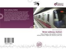 Buchcover von Ibrox subway station