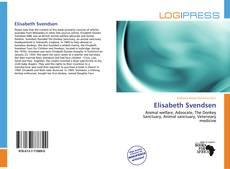 Portada del libro de Elisabeth Svendsen