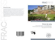Prince du sang kitap kapağı