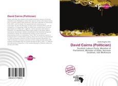 David Cairns (Politician) kitap kapağı