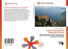Buchcover von Louis V Joseph de Bourbon-Condé