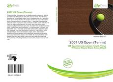 2001 US Open (Tennis)的封面