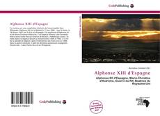 Bookcover of Alphonse XIII d'Espagne