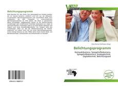 Belichtungsprogramm kitap kapağı