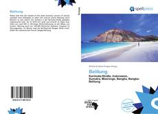 Bookcover of Belitung