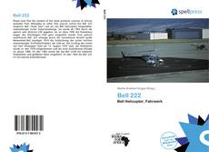 Bookcover of Bell 222