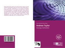 Bookcover of Andrew Taylor