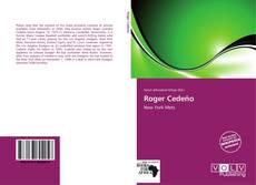 Roger Cedeño kitap kapağı