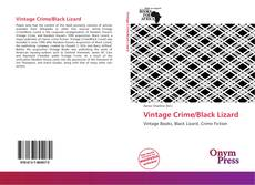 Capa do livro de Vintage Crime/Black Lizard