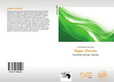 Bookcover of Roger Christie