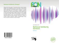 Bookcover of National Solidarity (Greece)