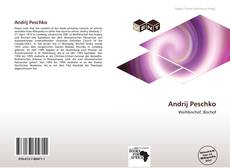 Capa do livro de Andrij Peschko