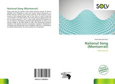 Portada del libro de National Song (Montserrat)