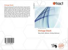 Bookcover of Vintage Stock