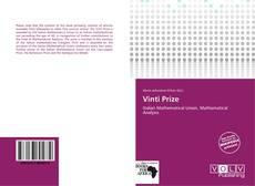Bookcover of Vinti Prize