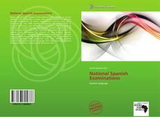 Capa do livro de National Spanish Examinations