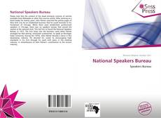 Bookcover of National Speakers Bureau