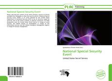 Обложка National Special Security Event