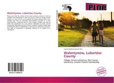 Walentynów, Lubartów County的封面