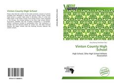 Bookcover of Vinton County High School