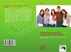 University of Georgia College of Public Health kitap kapağı