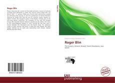 Buchcover von Roger Blin