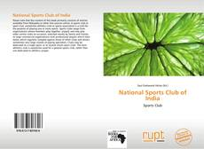 Couverture de National Sports Club of India