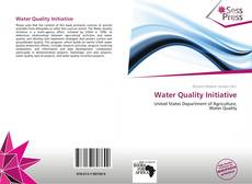 Bookcover of Water Quality Initiative