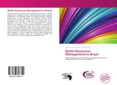 Bookcover of Water Resources Management in Brazil