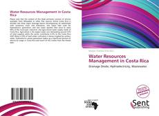 Water Resources Management in Costa Rica kitap kapağı