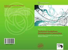 Technical Guidelines Development Committee kitap kapağı