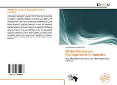 Bookcover of Water Resources Management in Jamaica