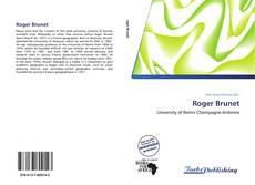 Buchcover von Roger Brunet