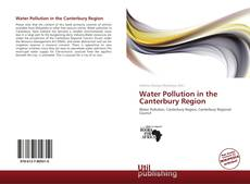 Bookcover of Water Pollution in the Canterbury Region
