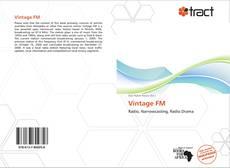 Bookcover of Vintage FM