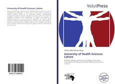 Bookcover of University of Health Sciences Lahore
