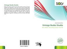 Bookcover of Vintage Nudes Studio