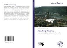 Portada del libro de Heidelberg University
