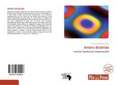 Capa do livro de Andris Biedriņš