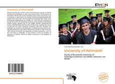 Portada del libro de University of Helmstedt