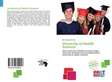 Bookcover of University of Health Sciences