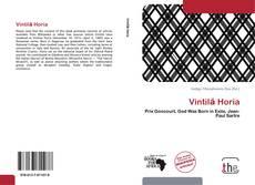 Bookcover of Vintilă Horia
