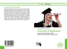 Bookcover of University of Hyderabad