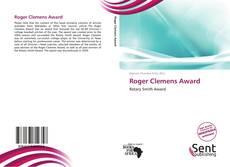 Roger Clemens Award的封面
